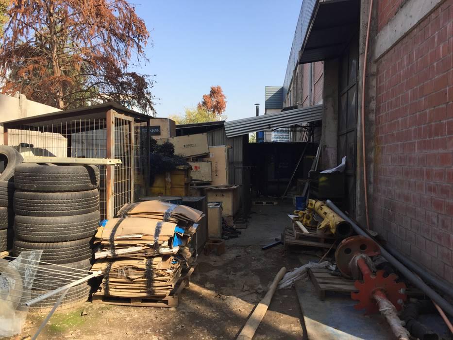 Limpieza de terreno de Tallo Taller Industrial