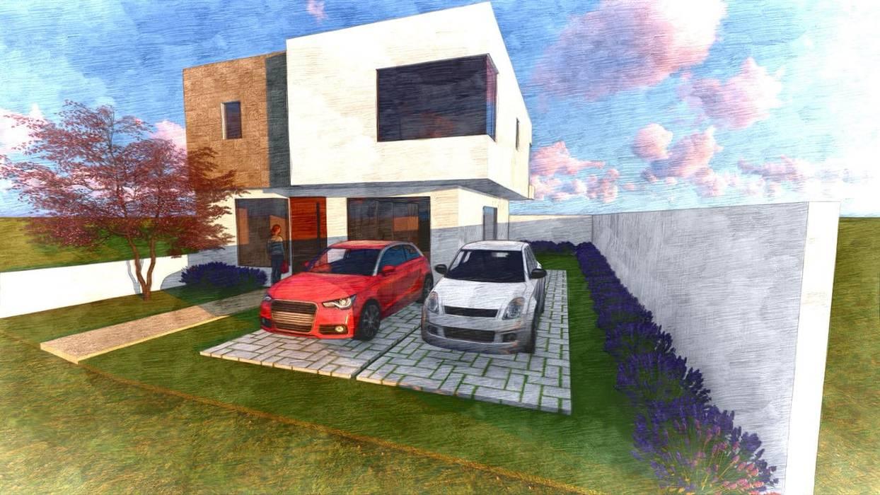 Proyecto San Jeronimo : Casas multifamiliares de estilo  por D&C Hogar