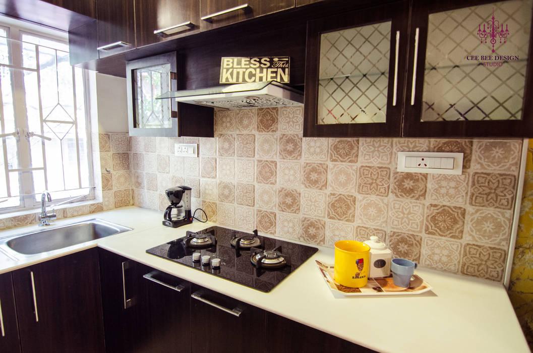 Petites cuisines de style  par Cee Bee Design Studio
