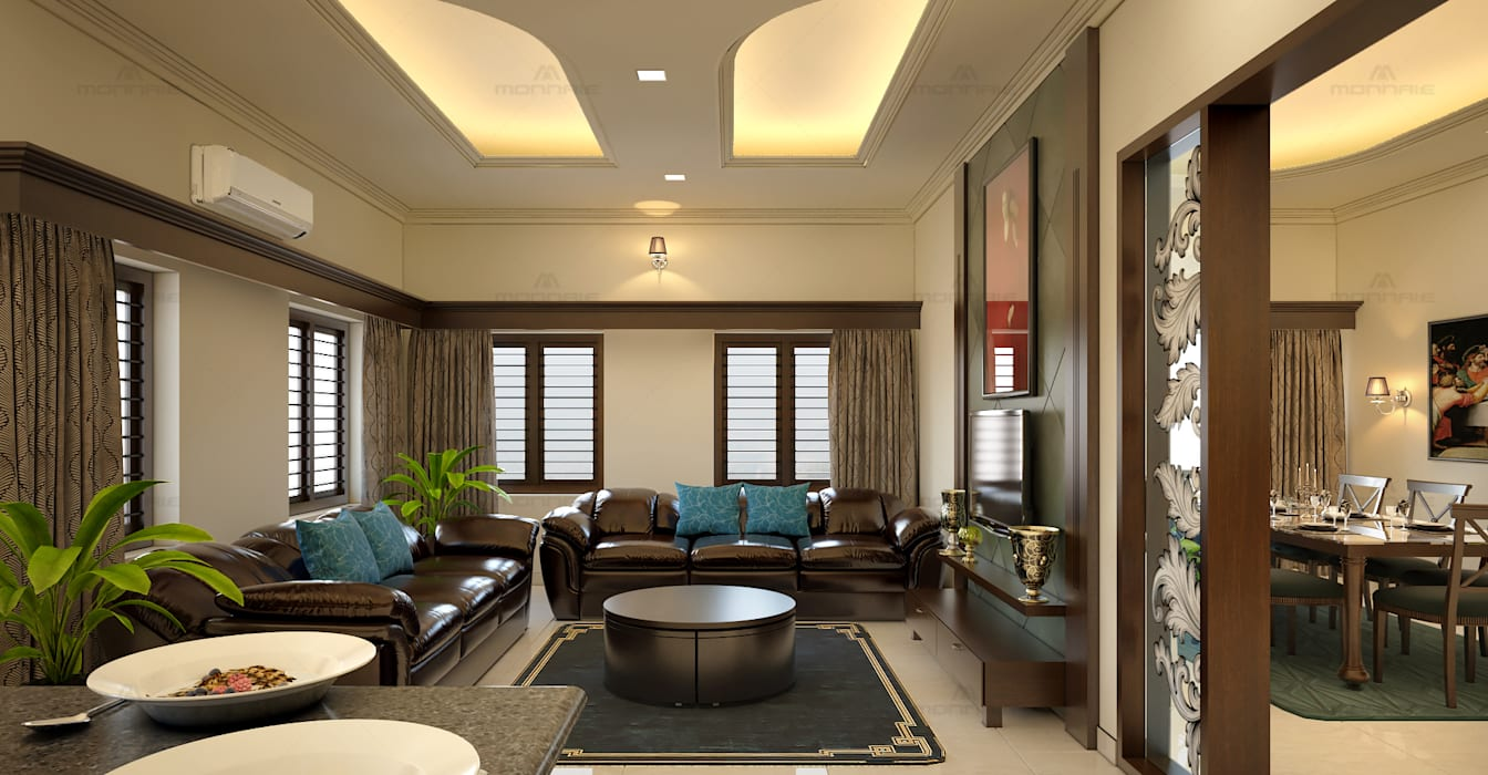 Best Architects Interior Designers In Kochi Kerala Classic Style Living Room By Monnaie Interiors Pvt Ltd Classic Homify