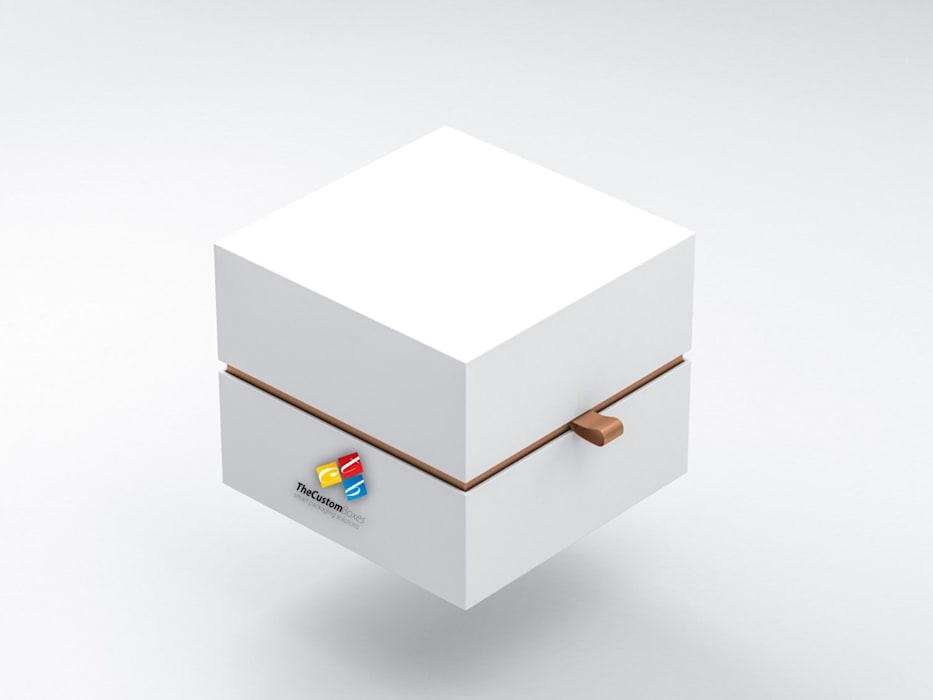Custom Boxes with Logo:  Study/office by TheCustomBoxes, Industrial