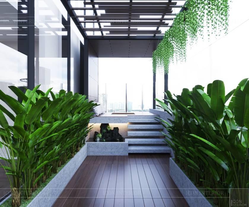 THIẾT KẾ CĂN HỘ LANDMARK 81 Mr.Dung - Chuẩn mực Không gian sống thượng lưu Vườn phong cách kinh điển bởi ICON INTERIOR Kinh điển