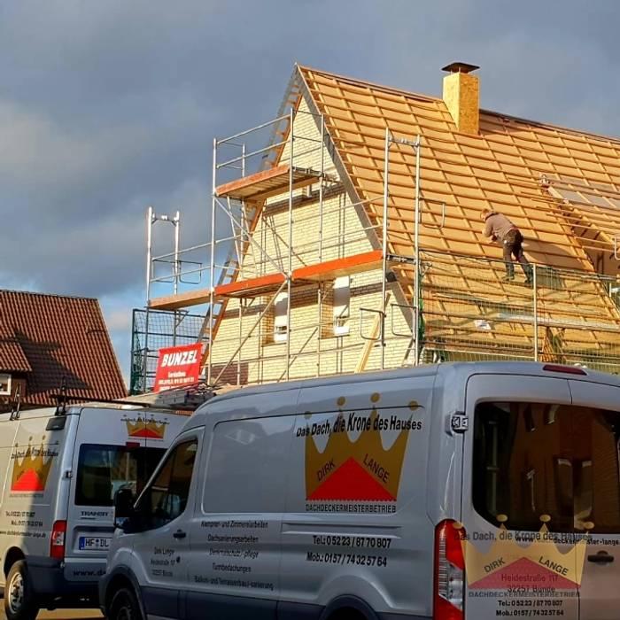 Dachsanierung in Melle von Dachdeckermeisterbetrieb Dirk Lange   Büro Herford Modern