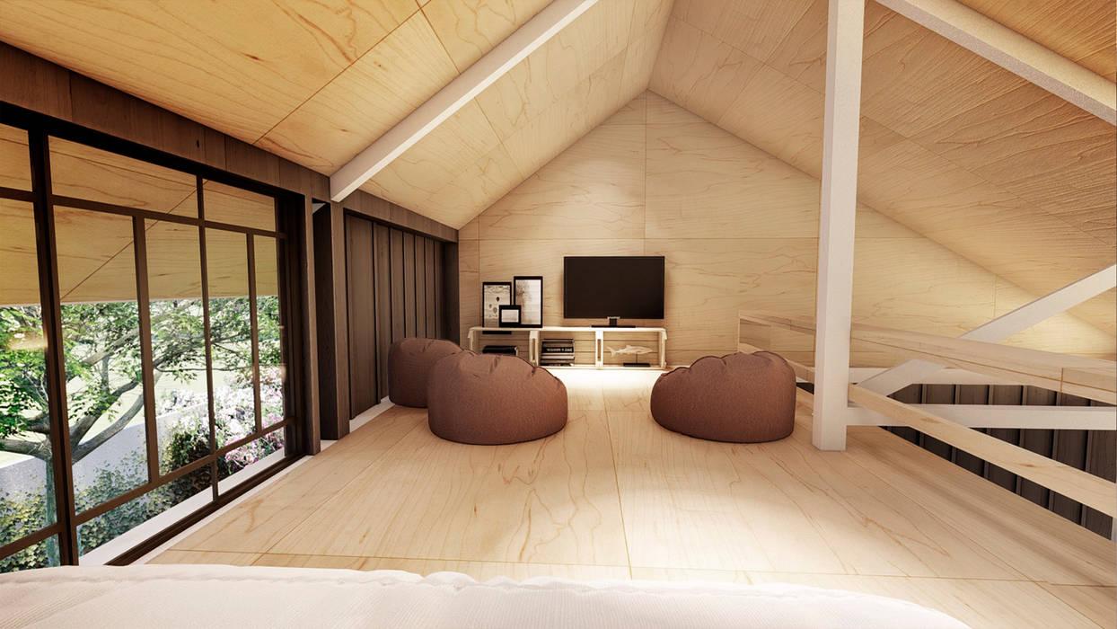 Sàn theo Franthesco Spautz Arquitetura, Chiết trung
