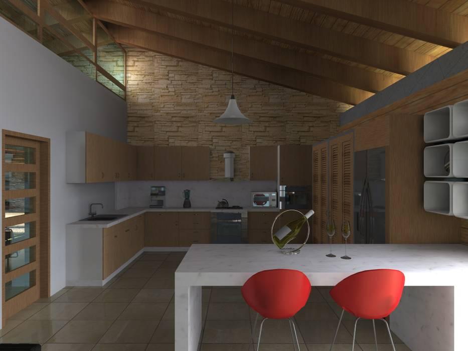 Inbouwkeukens door Arquitectura & Diseño