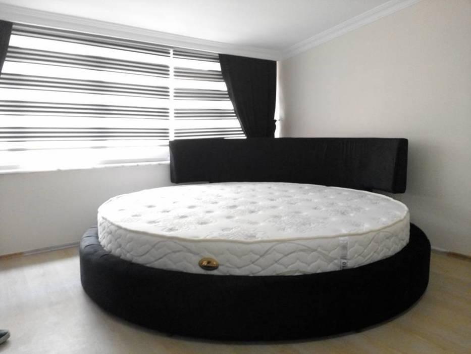 Özyurt Paz.Ltd.Şti. – Venüs Yuvarlak Yatak Seti:  tarz Yatak Odası,