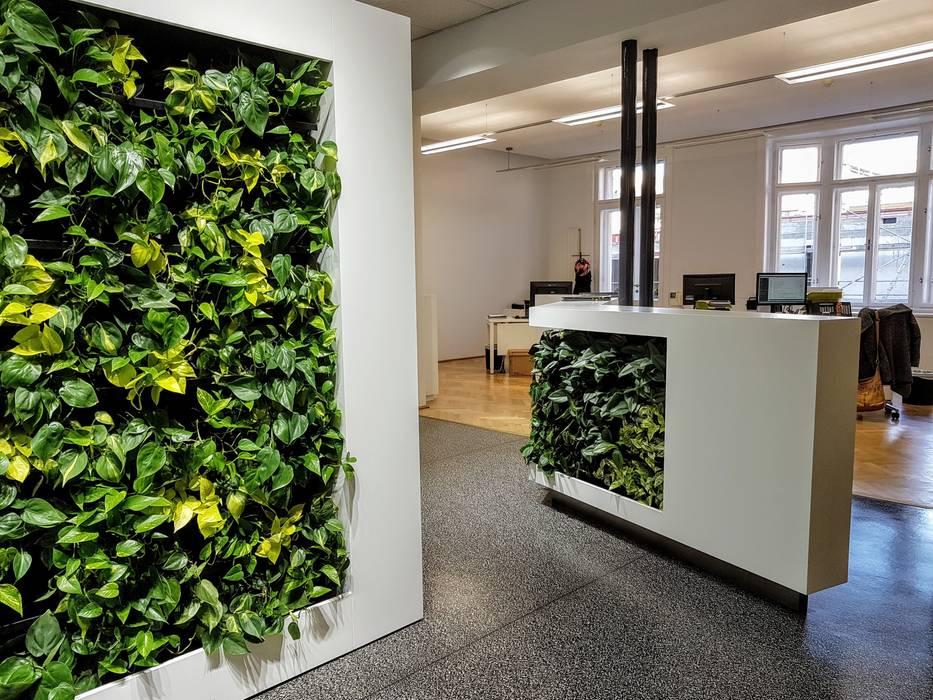 Bangunan Kantor Tropis Oleh AMMON Raumbegrünung Tropis