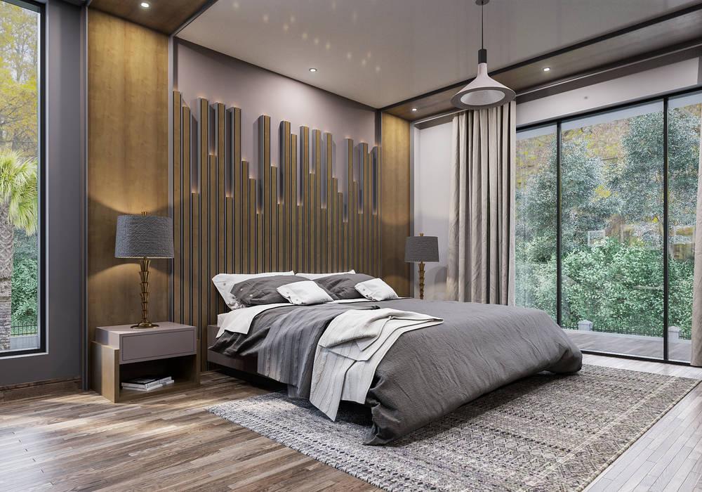 ANTE MİMARLIK  – Misafir yatak odası:  tarz Yatak Odası