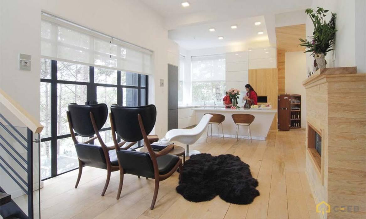thiết kế biệt thự nghỉ dưỡng dalat Nhà bếp phong cách hiện đại bởi thiết kế khách sạn hiện đại CEEB Hiện đại