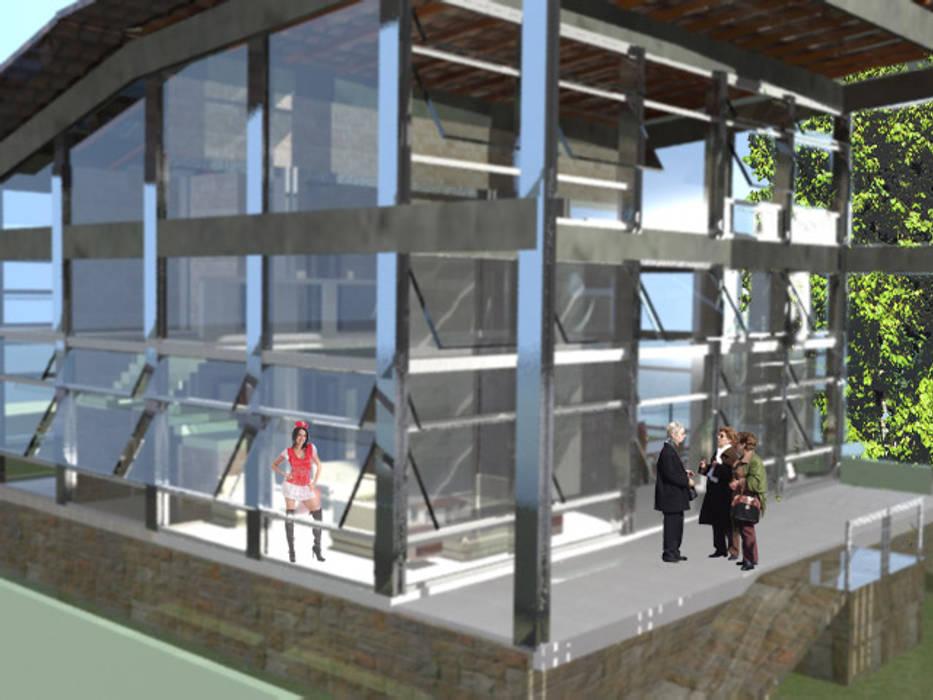 Projekty,  Dom jednorodzinny zaprojektowane przez DESIGN CENTER ARQUITETURA