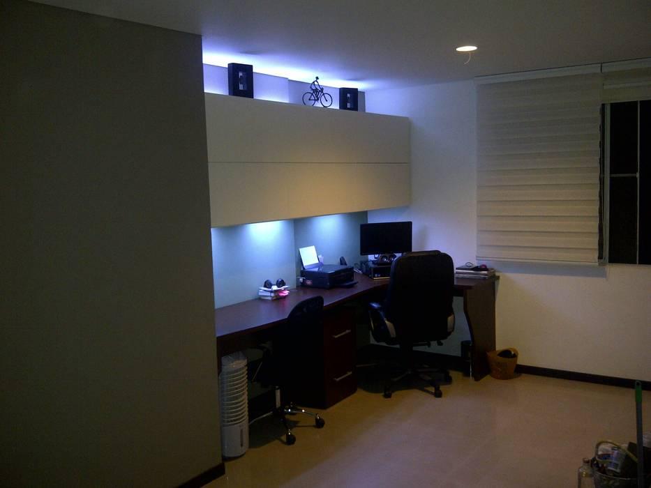 Mueble de Estudio de Creare Vida EN Madera Moderno Aglomerado