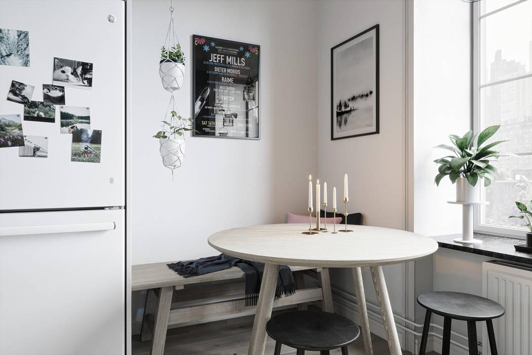 Render 3d mesa de cocina: de estilo de proyecto 3d valencia ...