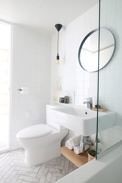 Modern bathroom by 스튜디오쏭 (STUDIO SSONG) Modern