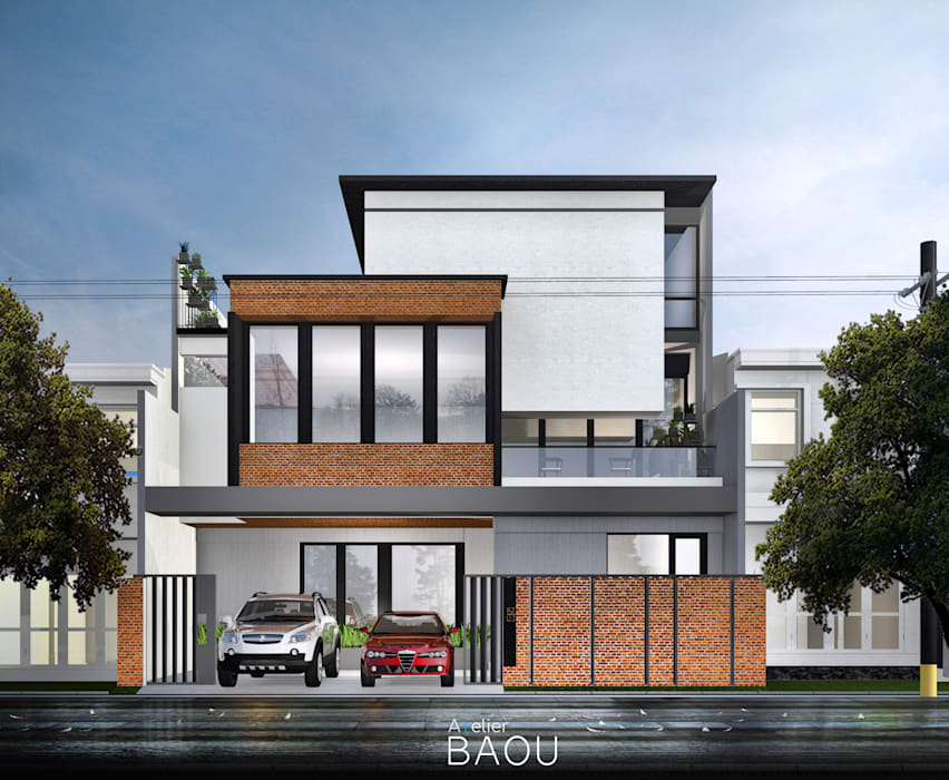 Single family home by Atelier BAOU+