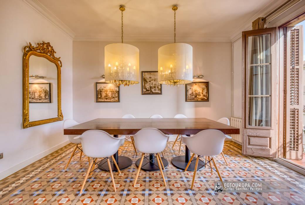 Mediterranean style dining room by Carlos Sánchez Pereyra | Artitecture Photo | Fotógrafo Mediterranean