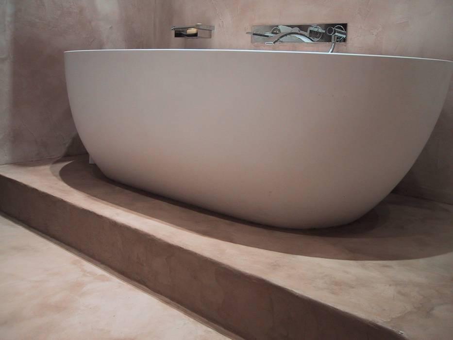 Beton cire bad: badezimmer von beton2 | homify