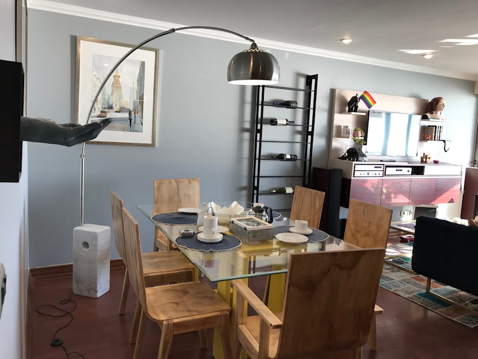 Ruang Makan Modern Oleh Kaa Interior   Arquitectura de Interior   Santiago Modern