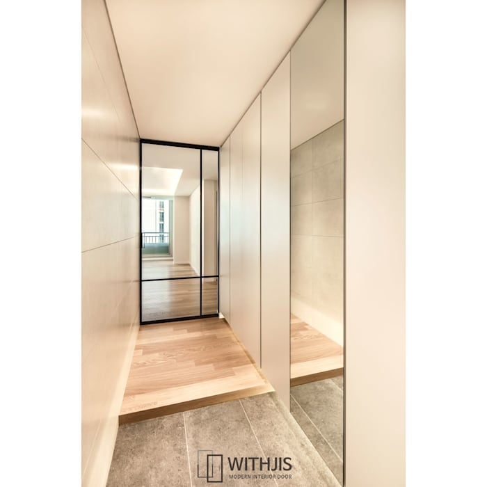 Glass doors by WITHJIS(위드지스),