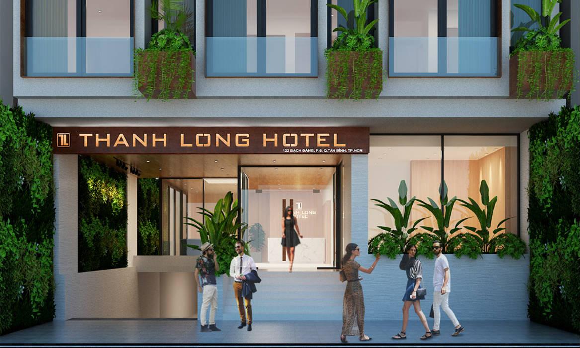thiết kế khách sạn hiện đại Thanhlong: hiện đại  by thiết kế khách sạn hiện đại CEEB, Hiện đại