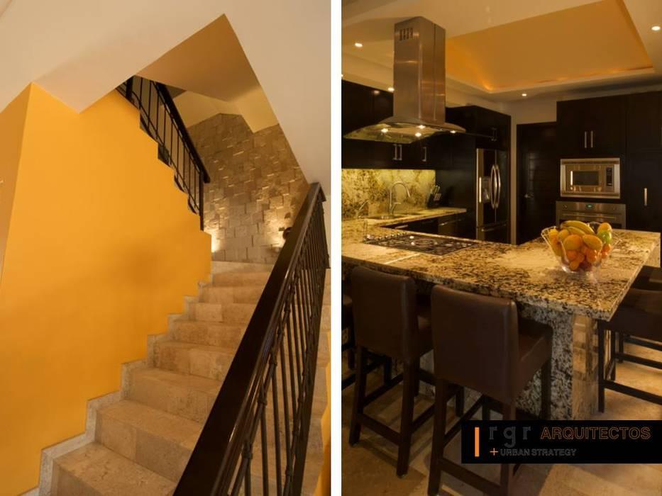 Escalier de style  par RGR Arquitectos + Urban Strategy, Moderne