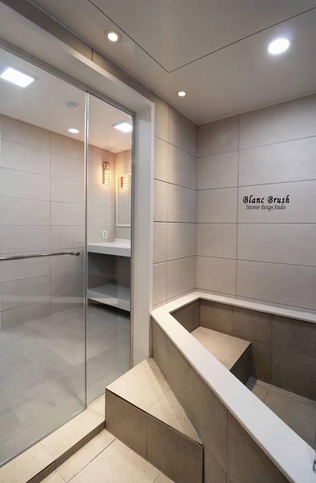분당 정든마을 동아아파트 1단지 59평 인테리어: 블랑브러쉬의  욕실
