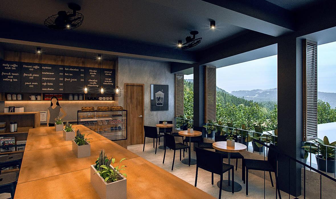 Arciete + Orillo Architects Gastronomia in stile moderno