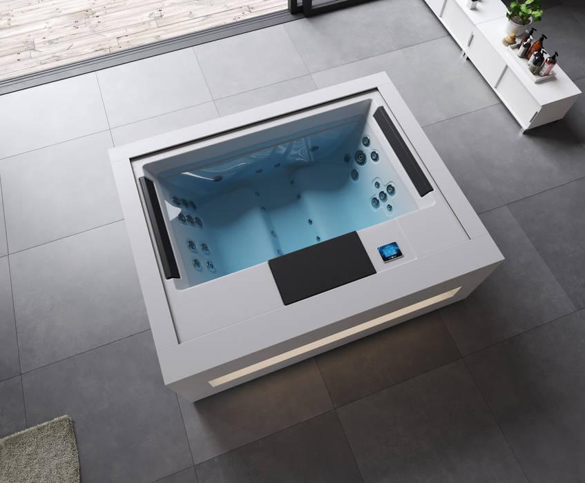 Tinas de hidromasaje de estilo  por Aquavia Spa, Moderno