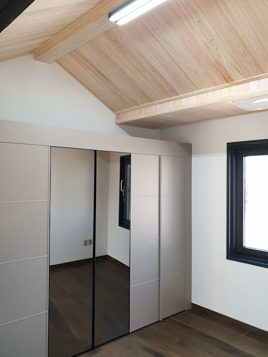 Salas multimédia modernas por 성종합건축사사무소 Moderno