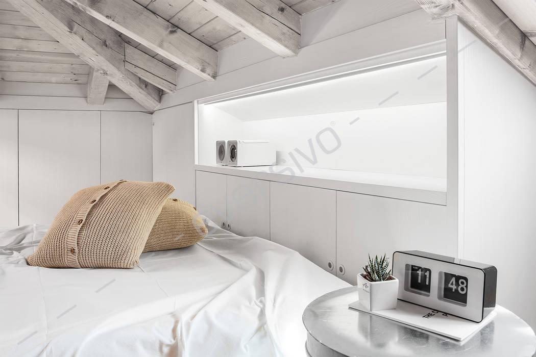 Eversivo BedroomWardrobes & closets Wood White