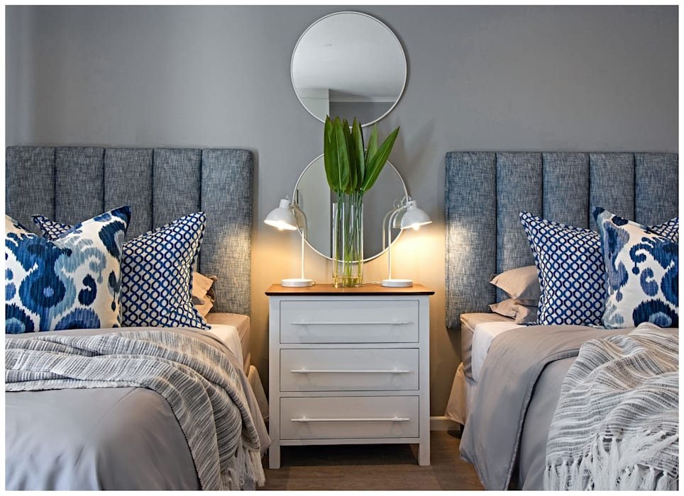 Beach house bedrooms Classic style bedroom by Joseph Avnon Interiors Classic