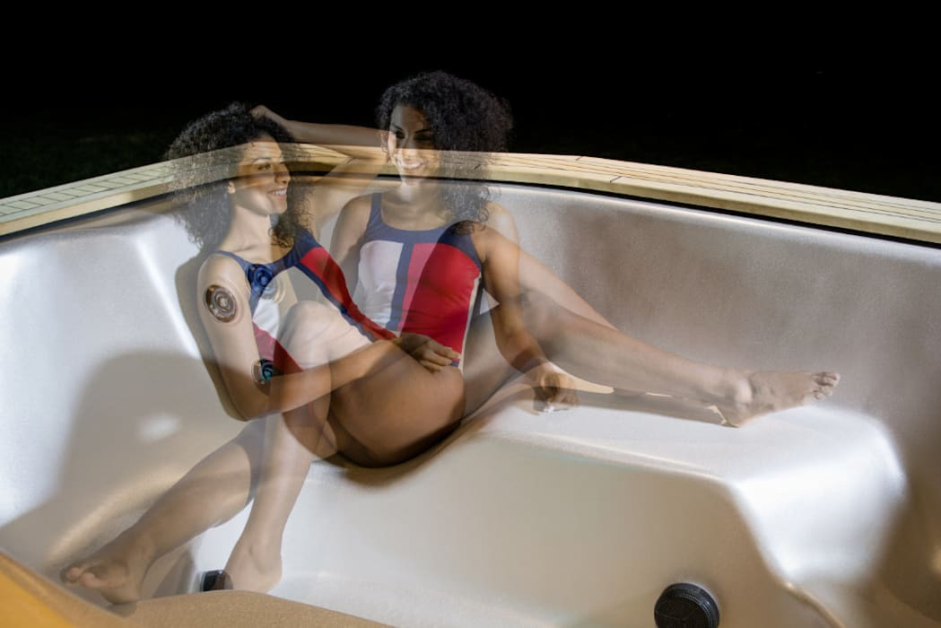 Hot tub by SPA Deluxe GmbH - Whirlpools in Senden
