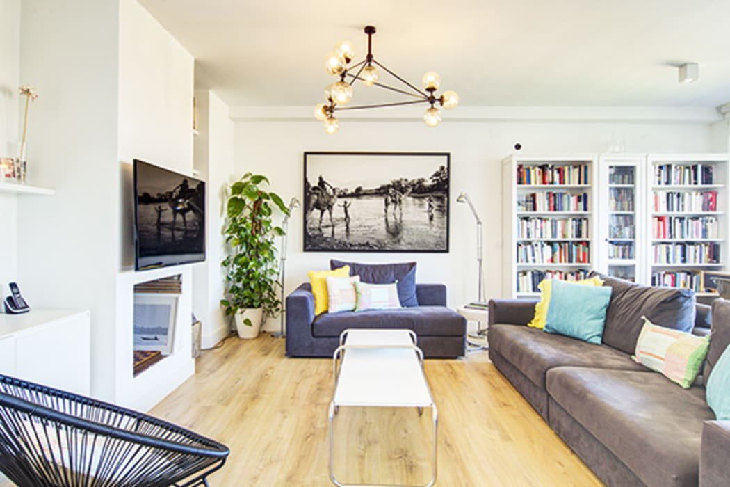 Decorando tu espacio - interiorismo y reforma integral en Madrid. Living roomSofas & armchairs