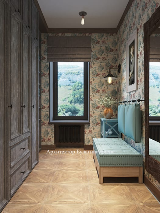 Sauna in stile  di Архитектурное Бюро 'Капитель'
