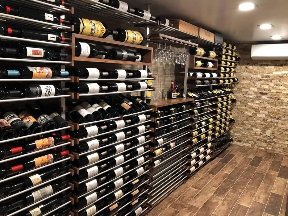Modern wine cellar by Millesime Wine Racks Modern