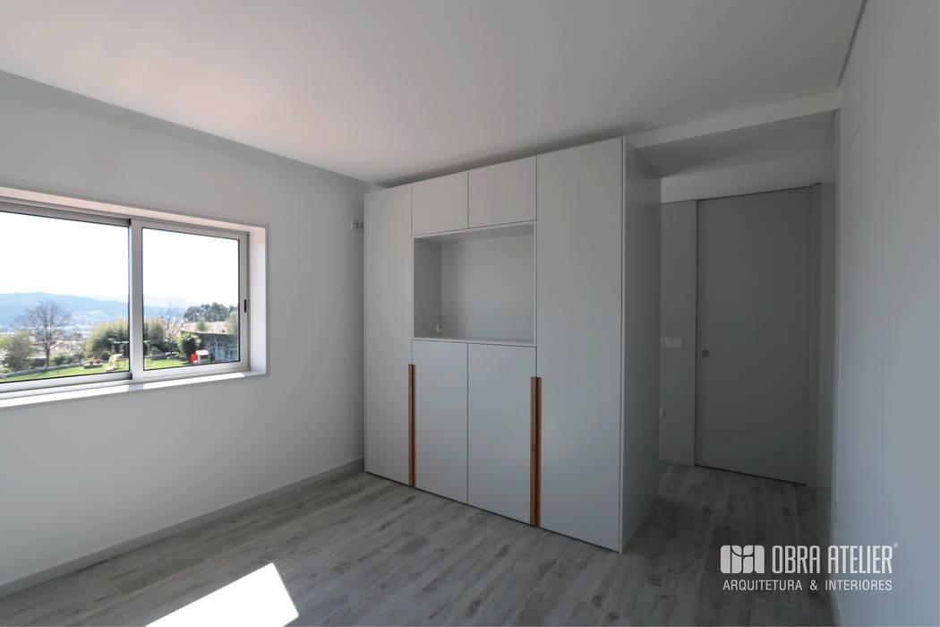 Quarto | Suite Principal Quartos minimalistas por OBRA ATELIER - Arquitetura & Interiores Minimalista Madeira Acabamento em madeira