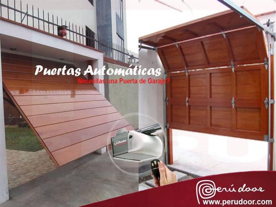 Puertas Automaticas de Garaje Peru Puertas modernas de Puertas Automaticas - PERU DOOR Moderno
