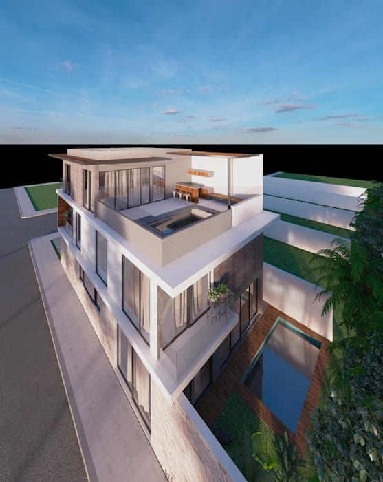 Passive house by LARQ Arquitectura y Diseño
