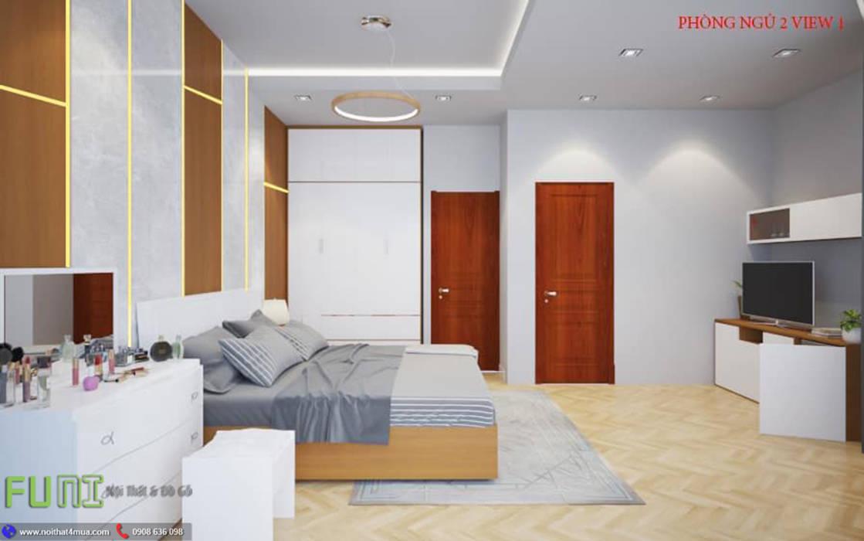 Phòng ngủ: cổ điển  by Công Ty TNHH Funi, Kinh điển