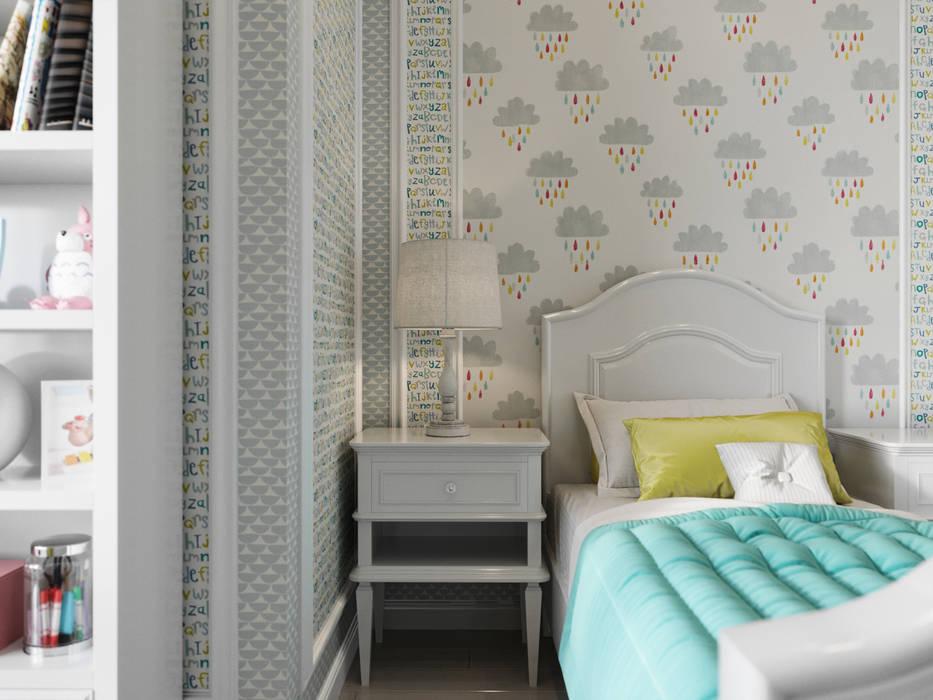 Projekty,  Pokój młodzieżowy zaprojektowane przez Дизайн интерьера Киев tishchenko.com.ua