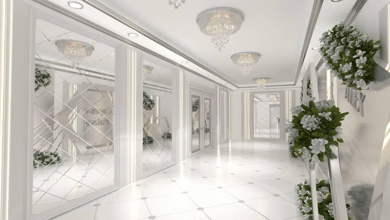 Altuncu İç Mimari Dekorasyon – Düğün Salonu Tasarımı ''Caprice Palas'' Hollanda Eindhoven:  tarz Etkinlik merkezleri