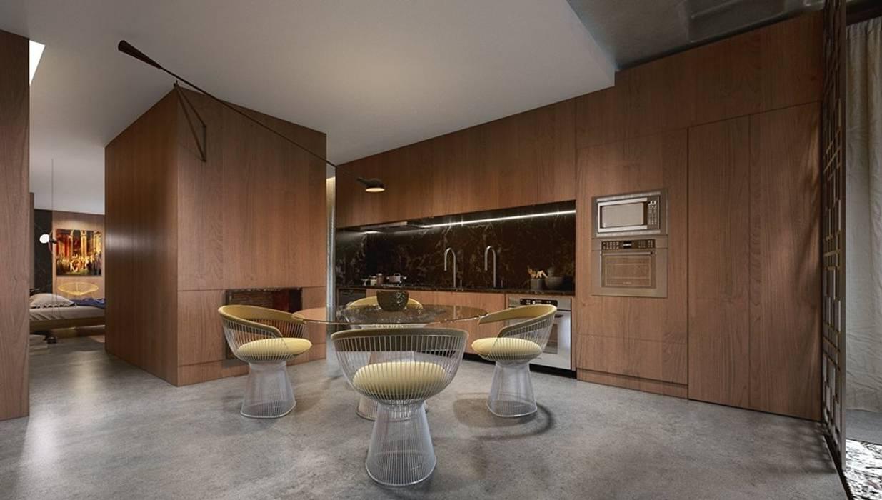 Diálogos Autorais / Iguaçu - Smart Arquitetura Johnny Thomsen Arquitetura e Design Salas de jantar modernas