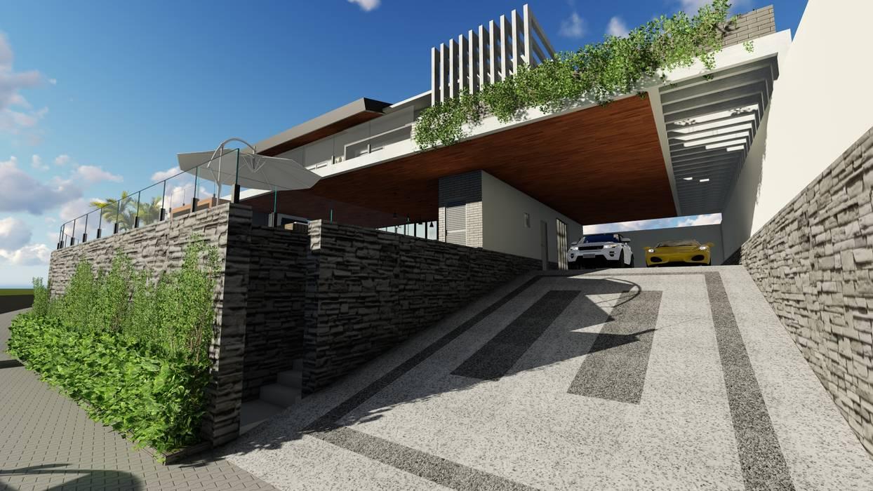 Fachada Casal Buono II por 88 Arquitetura Mediterrâneo