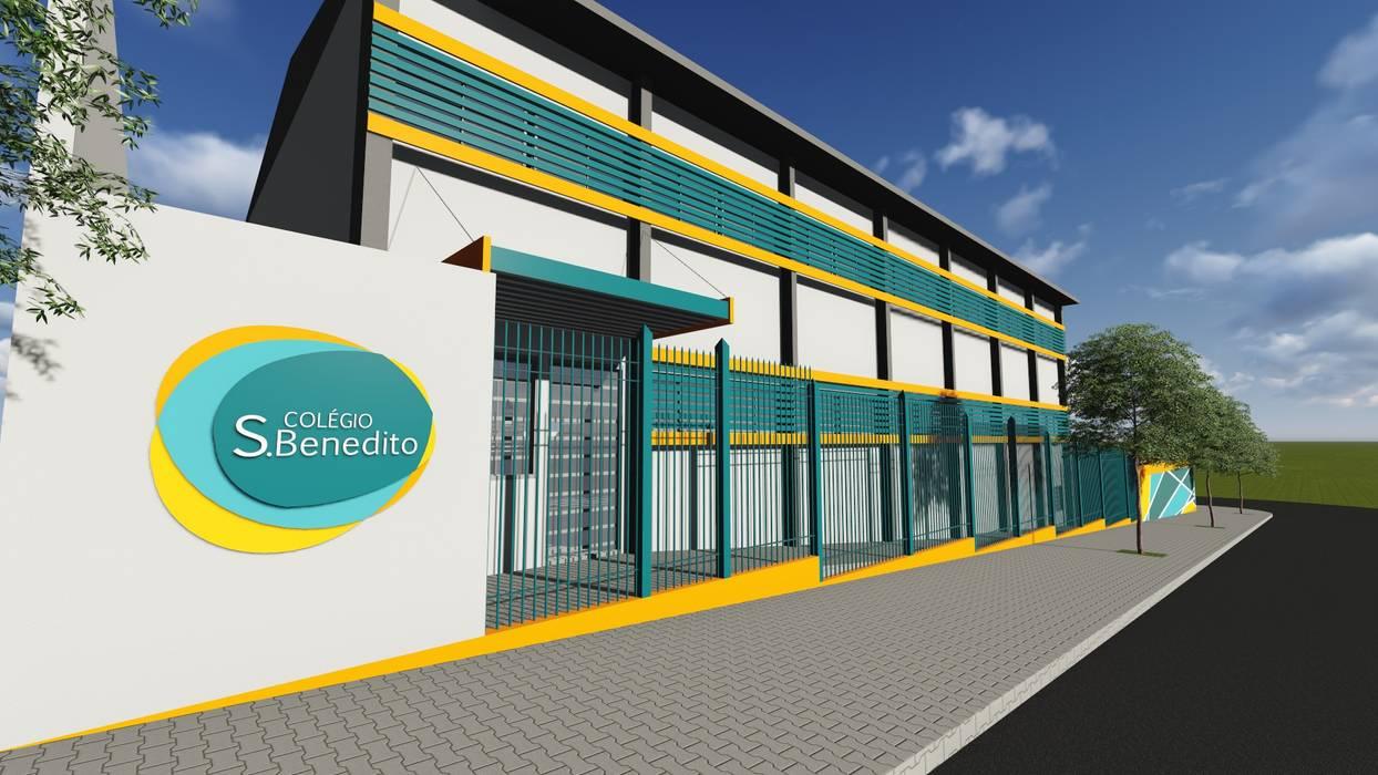 Colégio São Benedito Escolas modernas por 88 Arquitetura Moderno