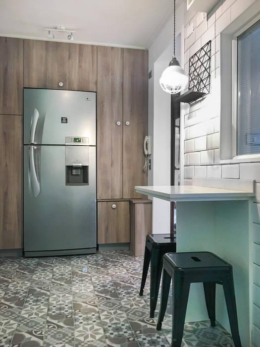 Cocina Vintage de Estudio Arquitectura y construccion PR/ Arquitectura, Construccion y Diseño de interiores / Santiago, Rancagua y Viña del mar Clásico