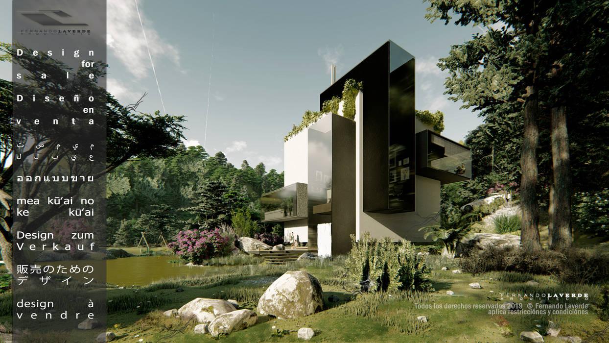 casa icubo: Museos de estilo  por Fernando Laverde ,