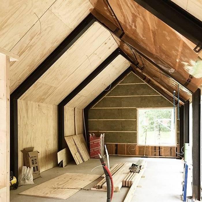 Casa de campo de Design WRX Moderno Madera Acabado en madera