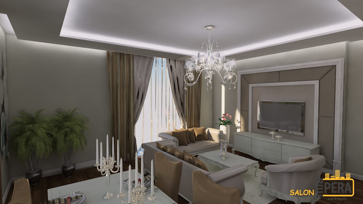 Living room by Miapera MİMARLIK