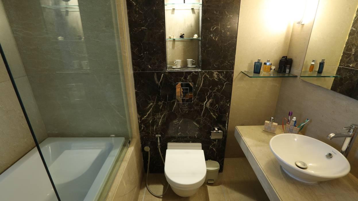 Mr.Kirit Dharia:  Bathroom by hiren