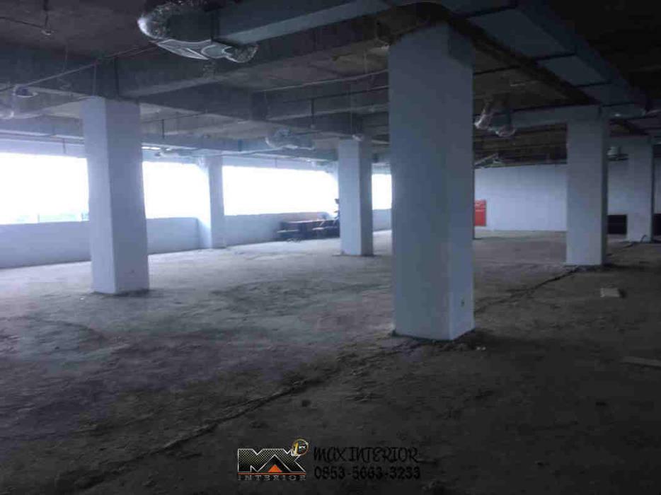 INTERIOR PEKANBARU - RIWAY OFFICE Bangunan Kantor Modern Oleh MAX INTERIOR PEKANBARU Modern