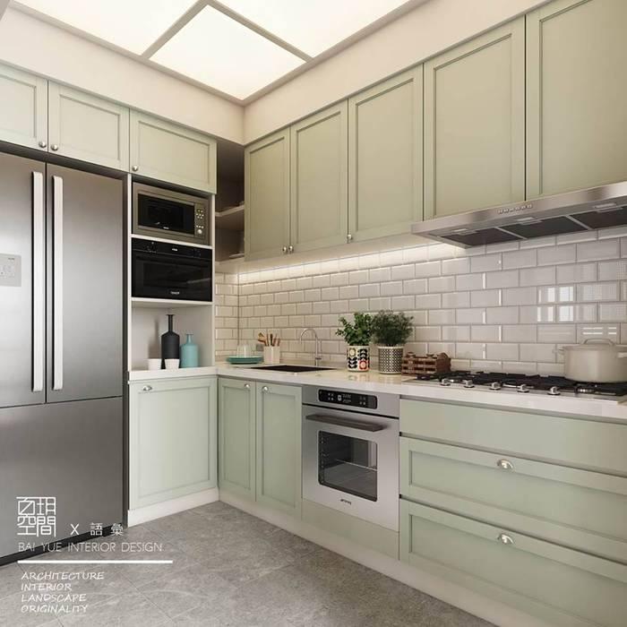 Tủ bếp by 百玥空間設計
